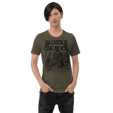 Load image into Gallery viewer, Unisex (Lightweight) T-shirt Aighard Army S 7 5908780_8440 Unisex (Lightweight) T-shirt