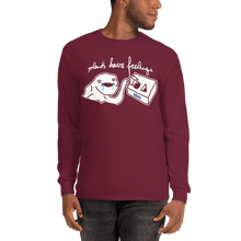 Load image into Gallery viewer, Unisex Long Sleeve Shirt Unisex Long Sleeve Shirt Aighard Maroon S 6 8312396 Unisex Long Sleeve Shirt