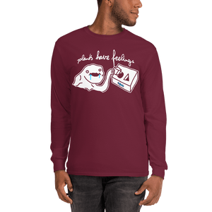 Unisex Long Sleeve Shirt Unisex Long Sleeve Shirt Aighard Maroon S 6 8312396 Unisex Long Sleeve Shirt