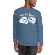 Load image into Gallery viewer, Unisex Long Sleeve Shirt Unisex Long Sleeve Shirt Aighard Indigo Blue S 5 7821749 Unisex Long Sleeve Shirt