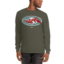 Load image into Gallery viewer, Unisex Long Sleeve Shirt Unisex Long Sleeve Shirt Aighard Military Green S 4 6473542 Unisex Long Sleeve Shirt