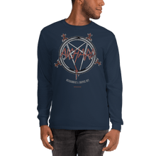 Load image into Gallery viewer, Unisex Long Sleeve Shirt Unisex Long Sleeve Shirt Aighard Navy S 4 9186339 Unisex Long Sleeve Shirt