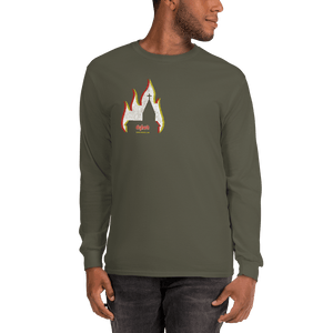 Unisex Long Sleeve Shirt Unisex Long Sleeve Shirt Aighard Military Green S 4 7793924 Unisex Long Sleeve Shirt