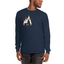 Load image into Gallery viewer, Unisex Long Sleeve Shirt Unisex Long Sleeve Shirt Aighard Navy S 3 1395118 Unisex Long Sleeve Shirt