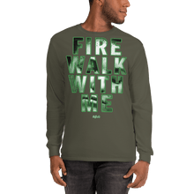 Load image into Gallery viewer, Unisex Long Sleeve Shirt Unisex Long Sleeve Shirt Aighard Military Green S 4 5048476 Unisex Long Sleeve Shirt