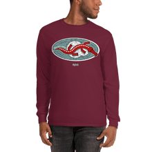 Load image into Gallery viewer, Unisex Long Sleeve Shirt Unisex Long Sleeve Shirt Aighard Maroon S 8 9038444 Unisex Long Sleeve Shirt