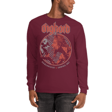 Load image into Gallery viewer, Unisex Long Sleeve Shirt Unisex Long Sleeve Shirt Aighard Maroon S 4 2115973 Unisex Long Sleeve Shirt