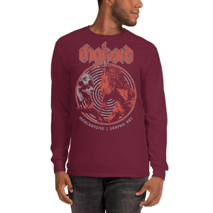 Unisex Long Sleeve Shirt Unisex Long Sleeve Shirt Aighard Maroon S 4 2115973 Unisex Long Sleeve Shirt