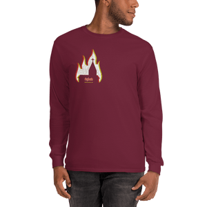 Unisex Long Sleeve Shirt Unisex Long Sleeve Shirt Aighard Maroon S 5 5637838 Unisex Long Sleeve Shirt