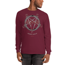 Load image into Gallery viewer, Unisex Long Sleeve Shirt Unisex Long Sleeve Shirt Aighard Maroon S 7 7523818 Unisex Long Sleeve Shirt