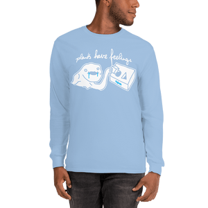 Unisex Long Sleeve Shirt Unisex Long Sleeve Shirt Aighard Light Blue S 8 1365092 Unisex Long Sleeve Shirt