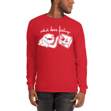 Load image into Gallery viewer, Unisex Long Sleeve Shirt Unisex Long Sleeve Shirt Aighard Red S 9 4851001 Unisex Long Sleeve Shirt