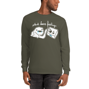 Unisex Long Sleeve Shirt Unisex Long Sleeve Shirt Aighard Military Green S 4 4390197 Unisex Long Sleeve Shirt
