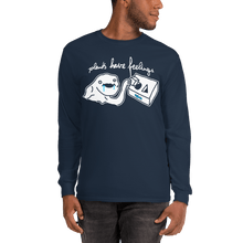 Load image into Gallery viewer, Unisex Long Sleeve Shirt Unisex Long Sleeve Shirt Aighard Navy S 3 2961316 Unisex Long Sleeve Shirt