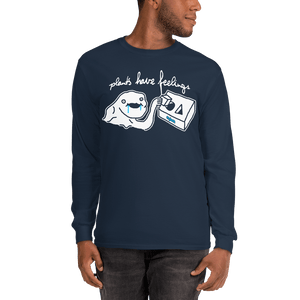 Unisex Long Sleeve Shirt Unisex Long Sleeve Shirt Aighard Navy S 3 2961316 Unisex Long Sleeve Shirt
