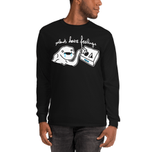 Load image into Gallery viewer, Unisex Long Sleeve Shirt Unisex Long Sleeve Shirt Aighard Black S 1 3401222 Unisex Long Sleeve Shirt