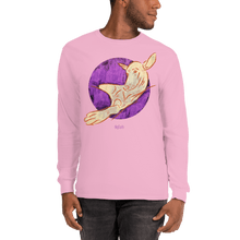 Load image into Gallery viewer, Unisex Long Sleeve Shirt Unisex Long Sleeve Shirt Aighard Light Pink S 10 2299630 Unisex Long Sleeve Shirt