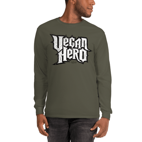 Unisex Long Sleeve Shirt Unisex Long Sleeve Shirt Aighard Military Green S 1 5601309 Unisex Long Sleeve Shirt
