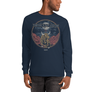 Unisex Long Sleeve Shirt Aighard Navy S 3 5492871_3544 Unisex Long Sleeve Shirt