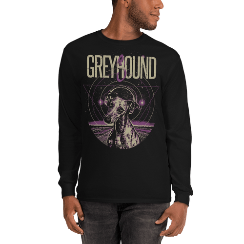 Greysound | Unisex Long Sleeve Shirt Aighard Merchandise Webshop adopta no compres animal lover