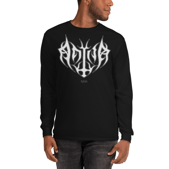 Unisex Long Sleeve Shirt Unisex Long Sleeve Shirt Aighard Black S 1 7541892_3456 Unisex Long Sleeve Shirt