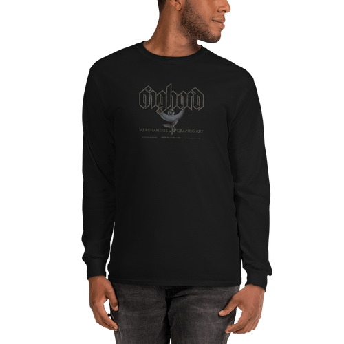 Unisex Long Sleeve Shirt (Front + Back) Unisex Long Sleeve Shirt Aighard S 1 1086063 Unisex Long Sleeve Shirt (Front + Back)