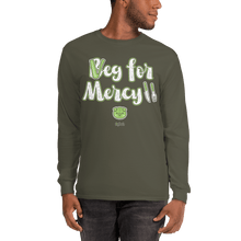 Load image into Gallery viewer, Unisex Long Sleeve Shirt Unisex Long Sleeve Shirt Aighard Military Green S 4 1414696_3528 Unisex Long Sleeve Shirt