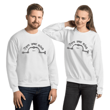 Load image into Gallery viewer, Unisex Sweatshirt Unisex Sweatshirt Aighard White S 4 8520970 Unisex Sweatshirt