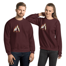 Load image into Gallery viewer, Unisex Sweatshirt Unisex Sweatshirt Aighard Maroon S 7 5353469 Unisex Sweatshirt