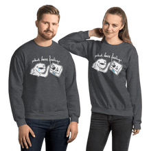 Load image into Gallery viewer, Unisex Sweatshirt Unisex Sweatshirt Aighard Dark Heather S 4 5672614 Unisex Sweatshirt