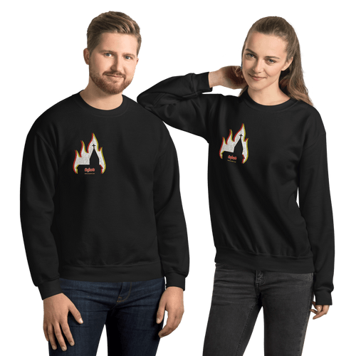 Church Arson | Unisex Sweatshirt Aighard Merchandise Webshop bergen black metal