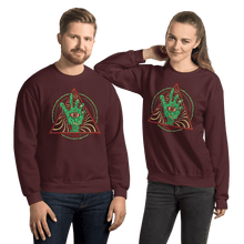 Load image into Gallery viewer, Unisex Sweatshirt Aighard Maroon S 5 6136695_5490 Unisex Sweatshirt