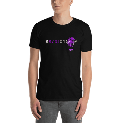 Revolution (Purple) | Unisex T-shirt Aighard Merchandise Webshop Activist Anti Activism