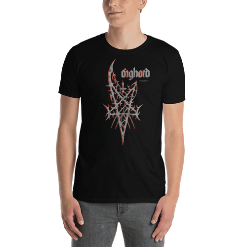 Barbed Pentagram | Unisex T-shirt Aighard Merchandise Webshop black metal death metal Barbed Pentagram