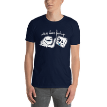 Load image into Gallery viewer, Unisex T-shirt Unisex T-shirt Aighard Navy S 3 8499278 Unisex T-shirt