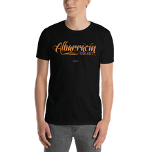 Load image into Gallery viewer, Unisex T-shirt (Front + Back) Unisex T-shirt Aighard Black S 1 4019149_474 Unisex T-shirt (Front + Back)