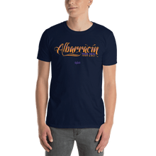 Load image into Gallery viewer, Unisex T-shirt (Front + Back) Unisex T-shirt Aighard Navy S 4 4019149_496 Unisex T-shirt (Front + Back)
