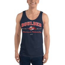 Load image into Gallery viewer, Unisex Tank Top (Variants) Aighard Navy XS 3 7830640_8646 Unisex Tank Top (Variants)