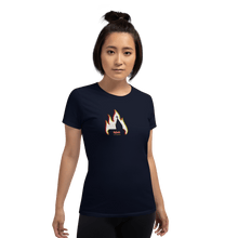 Load image into Gallery viewer, Woman T-shirt Woman T-shirt Aighard Navy S 3 9791169 Woman T-shirt