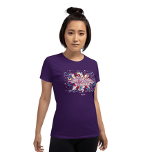 Load image into Gallery viewer, Woman T-shirt Woman T-shirt Aighard Purple S 4 6088314 Woman T-shirt