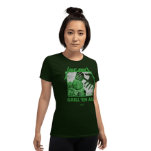 Load image into Gallery viewer, Woman T-shirt Woman T-shirt Aighard Forest Green S 2 8042891 Woman T-shirt