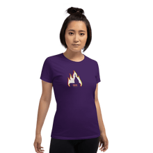 Load image into Gallery viewer, Woman T-shirt Woman T-shirt Aighard Purple S 4 1862224 Woman T-shirt