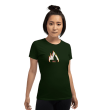 Load image into Gallery viewer, Woman T-shirt Woman T-shirt Aighard Forest Green S 2 4116958 Woman T-shirt