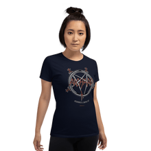 Load image into Gallery viewer, Woman T-shirt Woman T-shirt Aighard Navy S 4 5398278 Woman T-shirt