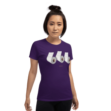 Load image into Gallery viewer, Woman T-shirt Woman T-shirt Aighard Purple S 3 5438645_2642 Woman T-shirt