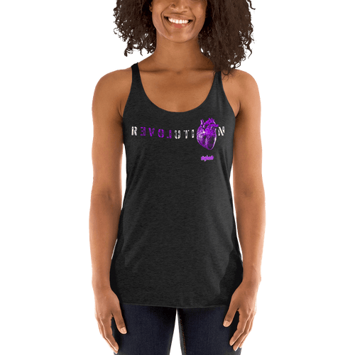 Revolution (Purple) | Woman Tank Top Aighard Merchandise Webshop Activist Anti Activism