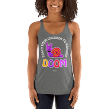 Load image into Gallery viewer, Teach Doom | Woman Tank Top Aighard Merchandise Webshop Child children Birthday Premium Heather