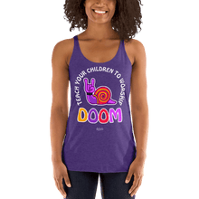 Load image into Gallery viewer, Teach Doom | Woman Tank Top Aighard Merchandise Webshop Child children Birthday Purple Rush