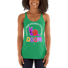 Load image into Gallery viewer, Teach Doom | Woman Tank Top Aighard Merchandise Webshop Child children Birthday Envy