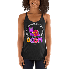 Load image into Gallery viewer, Teach Doom | Woman Tank Top Aighard Merchandise Webshop Child children Birthday Vintage Black
